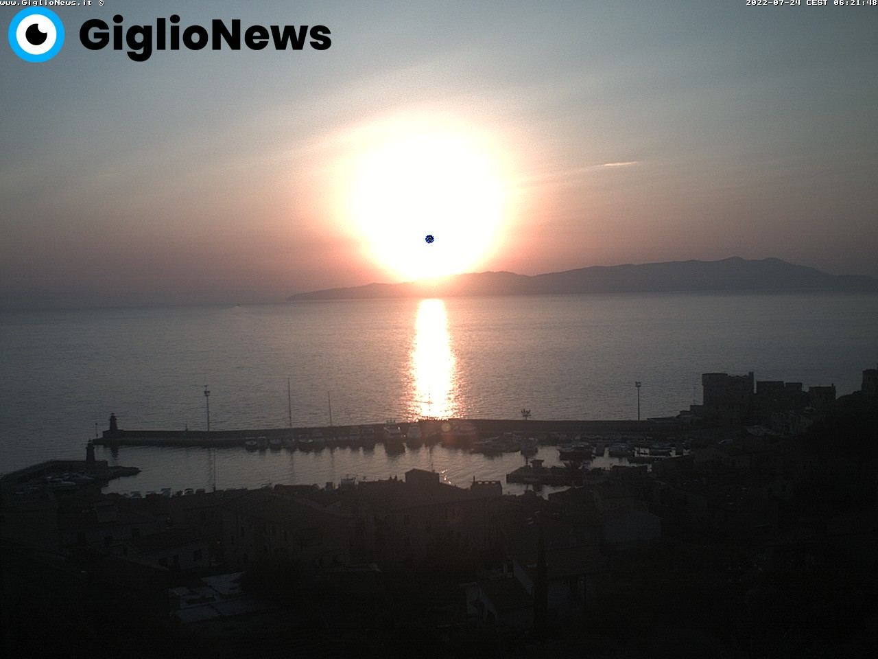 webcam isola del giglio n. 39344637